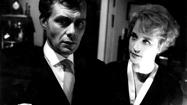 Dirk Bogarde and Sylvia Sims in Victim