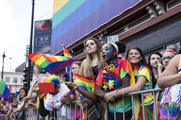 Thousands gathered on the north side for the 48th Annual Chicago Pride Parade last year.