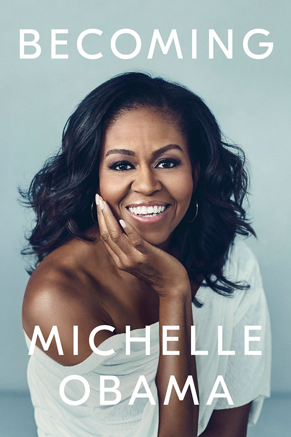 Only Michelle Obama is worthy of a stadium book tour.