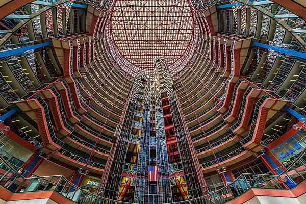 The Thompson Center, still endangered