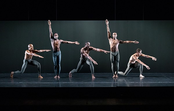 The Alvin Ailey American Dance Theater performs Kairos by Wayne McGregor.