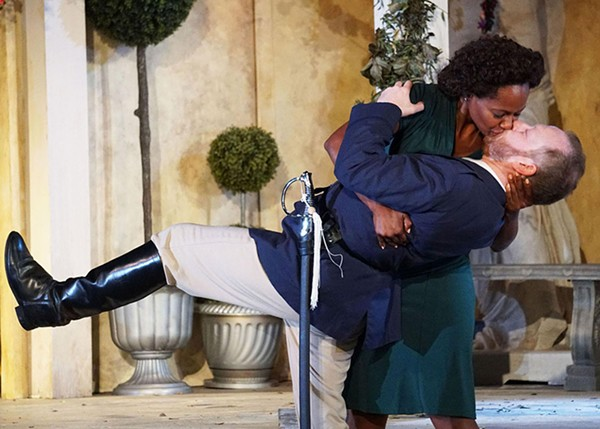 Much Ado About Nothing at Oak Park Festival Theatre