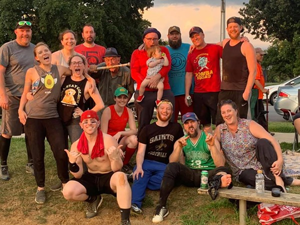 A Red Orchid Theatre's Chicago Theatre Softball League team