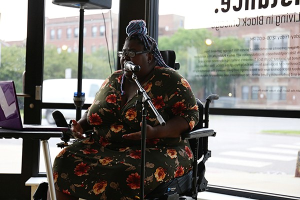 Poet Cherlnell Lane will guest during this month's edition of Surviving the Mic on Monday, November 11.