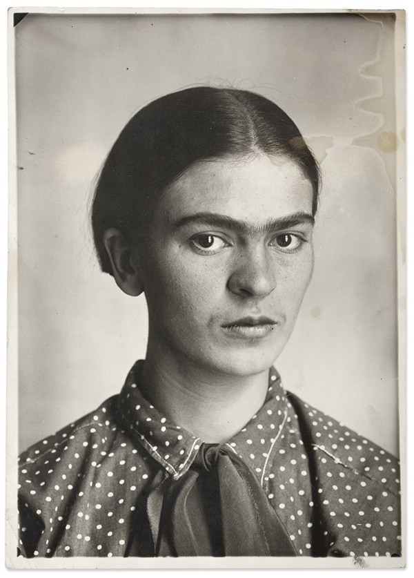 Frida Kahlo, photo by Guillermo Kahlo, 1926