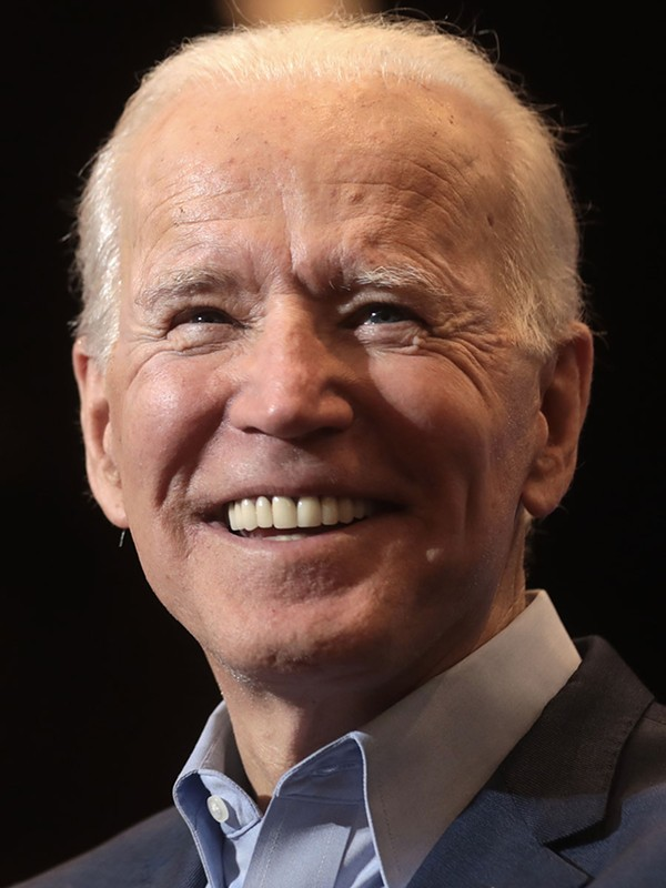 Time to put on your game face, Uncle Joe, so the Trumpsters don't wipe that smile off your face.