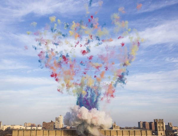 "Cai Guo-Qiang, ""Color Mushroom Cloud"""