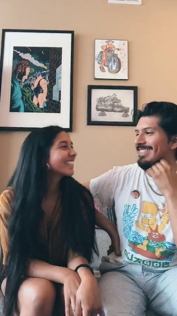 Rebeca Soto and David Alvarado share their love story on COVIDtv CONNEX.
