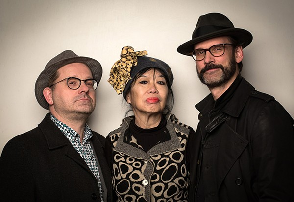 (L-R) Michael Griener, Aki Takase, and Christian Weber.