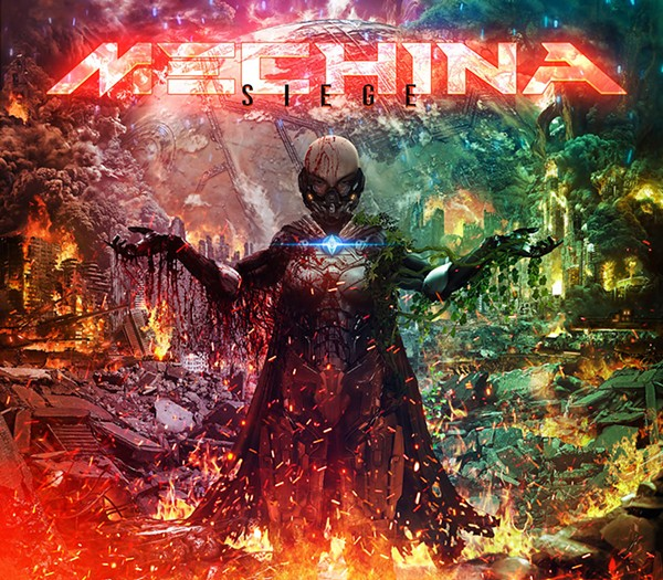 The art for Mechina's latest, Siege.