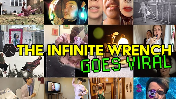 Scenes from The Infinite Wrench Goes Viral