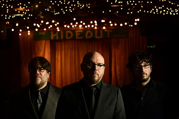 From left to right: John San Juan, Josh Caterer, and John Perrin are very serious about the Hideout.
