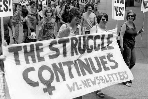 "An image from the upcoming project ""Documenting Women's Activism and Leadership in the Chicago Area, 1945-2000"""