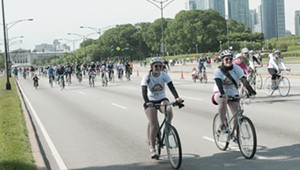 The 12th annual Bike the Drive, 2013 - TOM CRUZE/SUN-TIMES MEDIA