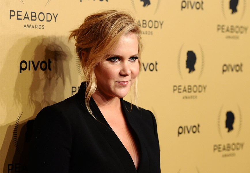 Amy Schumer in May 2015 - CHARLES SYKES/AP PHOTOS