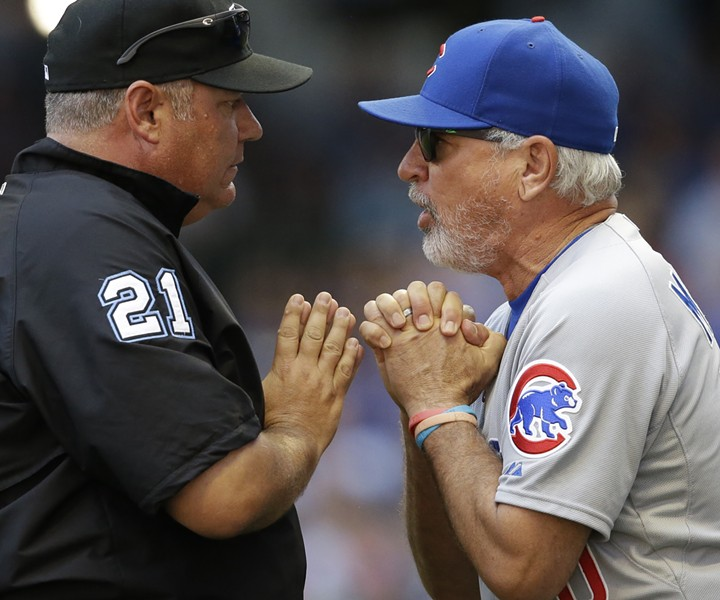There are two types of baseball managers: the hard-ass and the so-called players' manager. In that dichotomy, Maddon would have to be considered a players' manager. - JEFFREY PHELPS/AP PHOTO