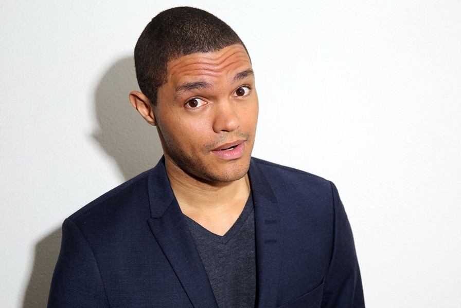 Trevor Noah takes over The Daily Show on September 28. - MATT SAYLES/INVISION/AP