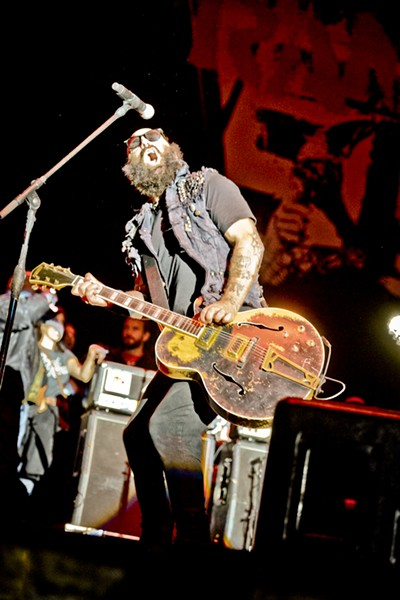 Who thinks Tim Armstrong from Rancid should shave his beard into a Mohawk? - ALISON GREEN