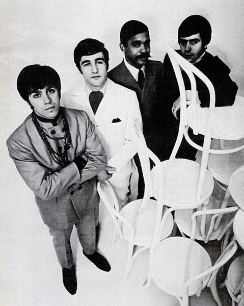The original lineup of the American Breed in 1968: vocalist Gary Loizzo, drummer Lee Graziano, bassist Charles Colbert Jr., and guitarist Al Ciner - PUBLIC DOMAIN PHOTO