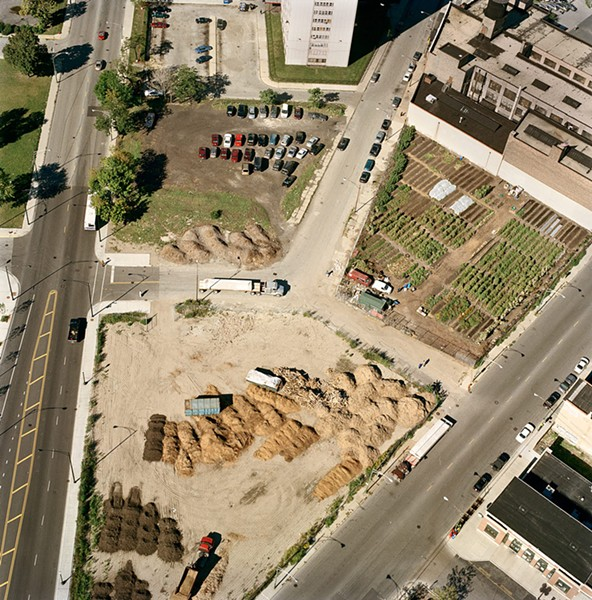 City Farm moved to the corner of Clybourn and Division in 2003. - TERRY EVANS