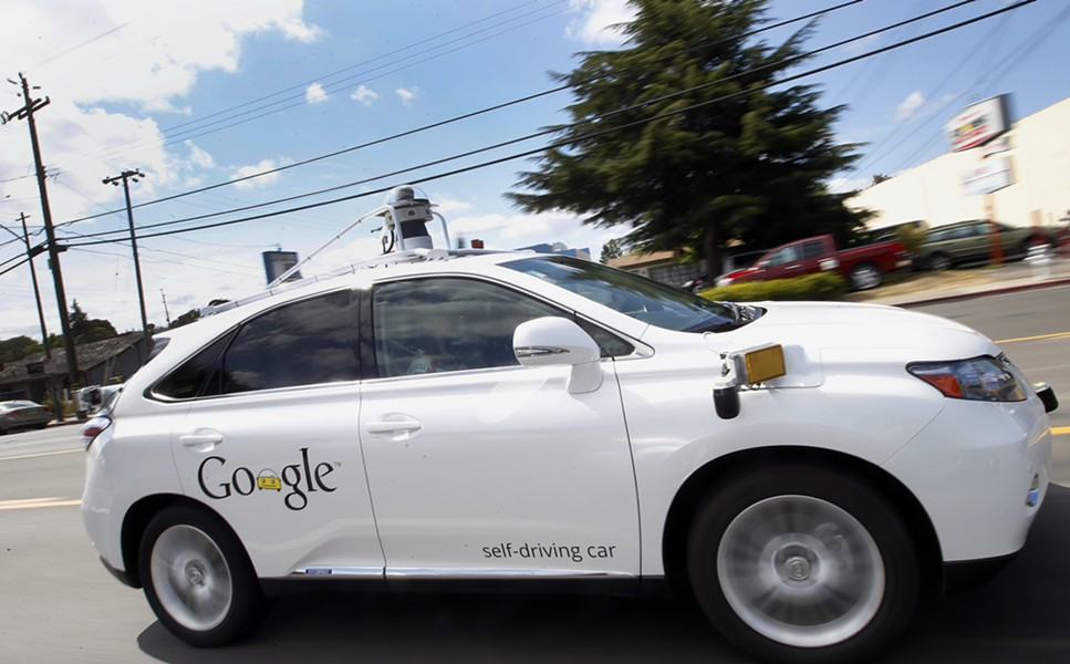 Google's self-driving car - AP