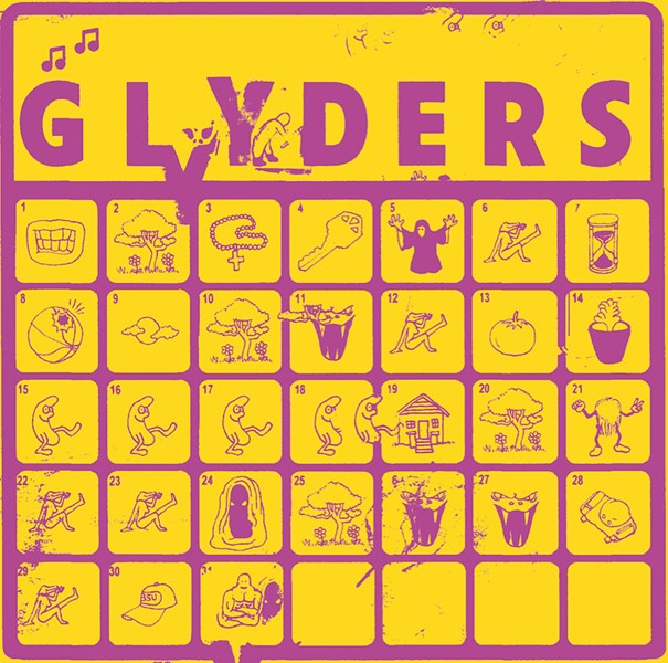 The seven-inch Glyders by guess who