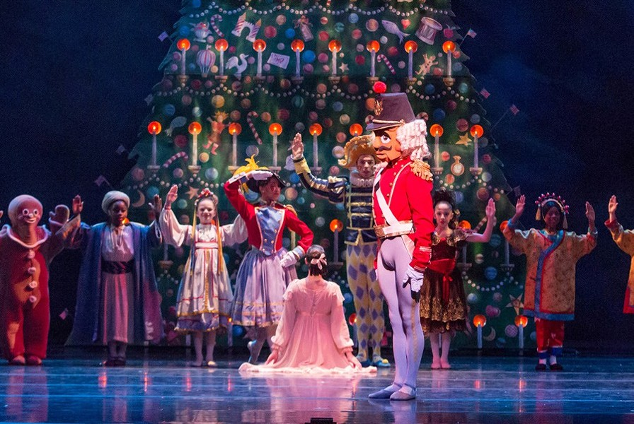 Spend this Christmas with the Joffrey Ballet. - CHERYL MANN