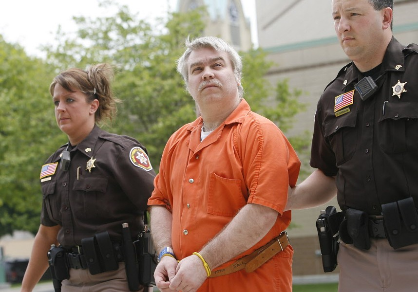 Steven Avery was convicted of murder three and a half years after his release from prison for a rape he didn't commit. - AP/DAN POWERS