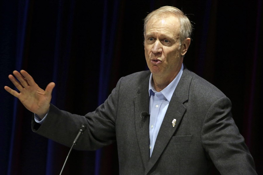 Bruce Rauner - AP/M. SPENCER GREEN
