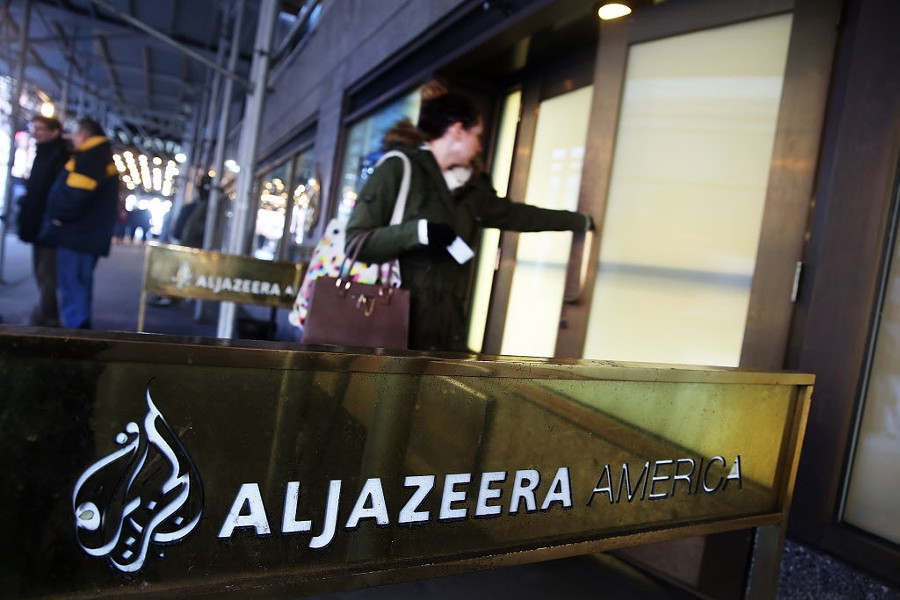 Al Jazeera America announced last week that they are shutting down. - SPENCER PLATT/GETTY IMAGES