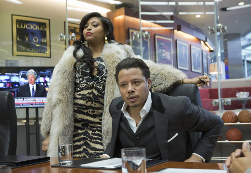Taraji P. Henson and Terrence Howard star in Empire. - 20TH CENTURY FOX
