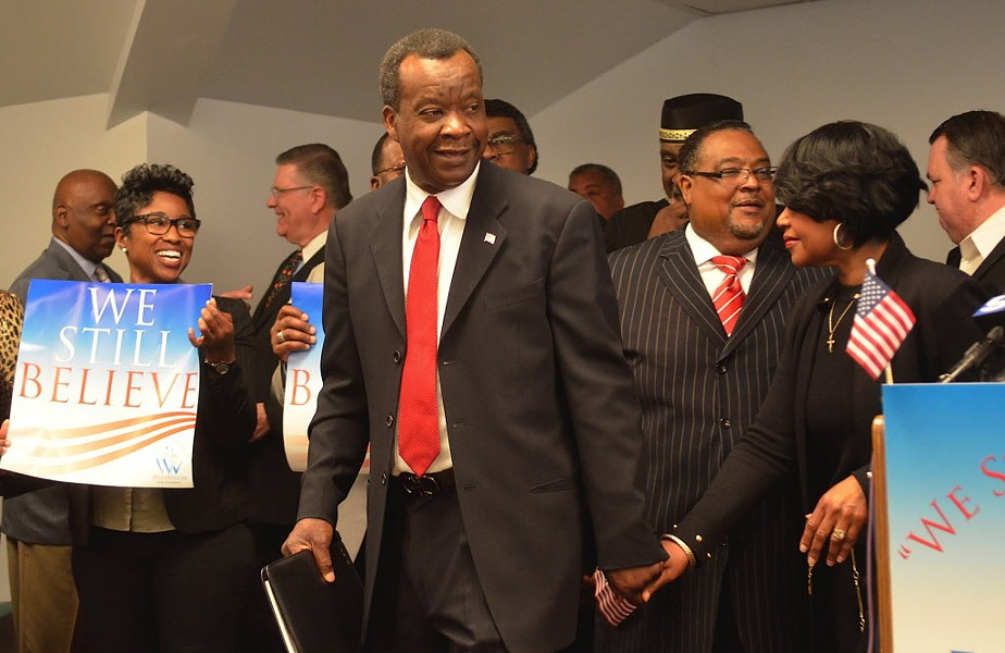 Willie Wilson announced his presidential bid back in June. - MITCH DUDEK/SUN-TIMES
