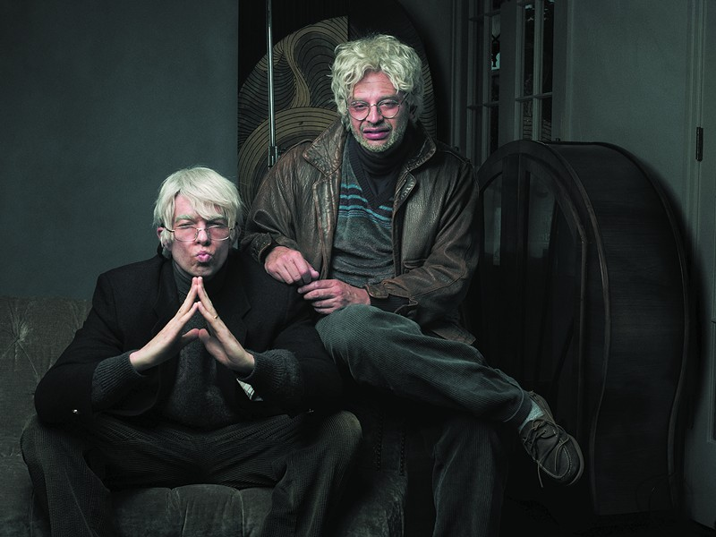 John Mulaney and Nick Kroll bring their show Oh, Hello to the Athenaeum Theatre. - LUKE FONTANA