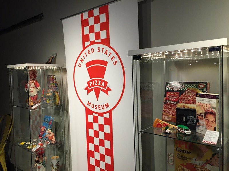The U.S. Pizza Museum brought a pop-up exhibit. No preheating required. - RYAN SMITH