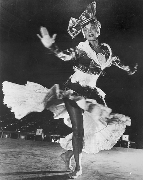 Katherine Dunham - COURTESY LIBRARY OF CONGRESS