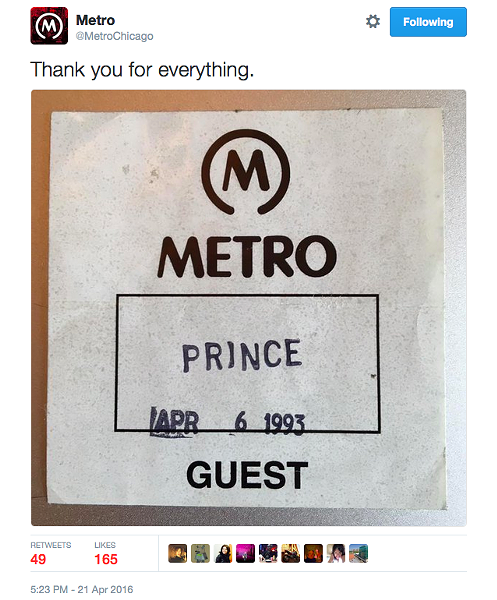 COURTESY THE METRO TWITTER FEED