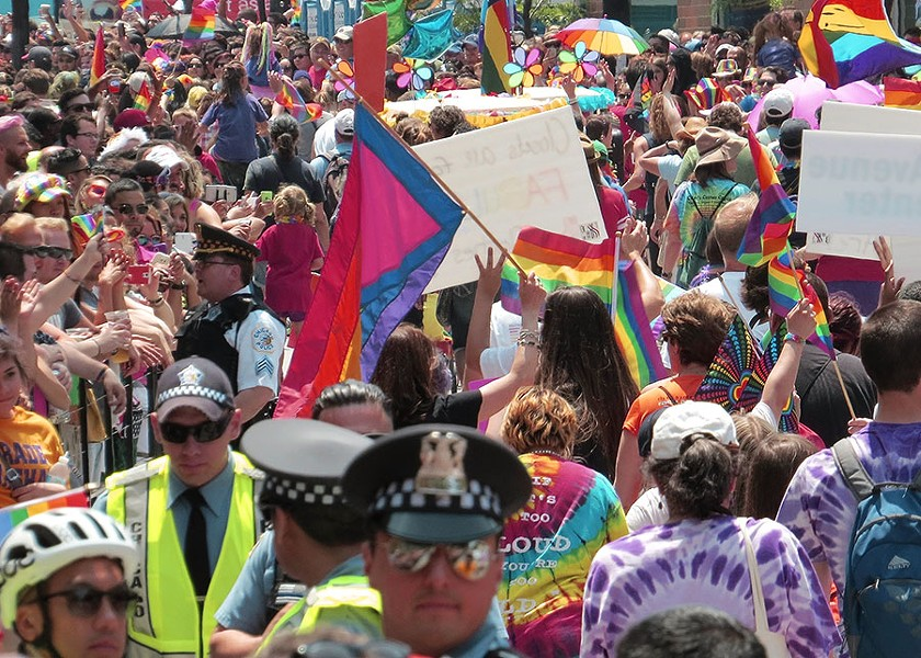 This weekend's Pride Fest kicks off a week of LGBTQ celebrations. - MICHAEL LUCAS