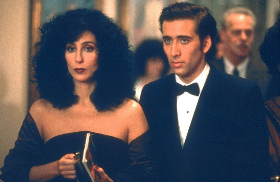 Moonstruck screens in Millennium Park on Tue 7/19.
