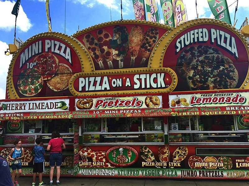Yes, pizza on a fucking stick. - RYAN SMITH