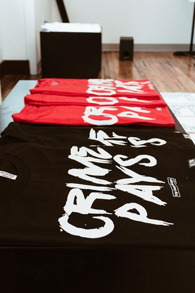 Trap House Chicago's crime pays T-shirts - APRIL ALONSO