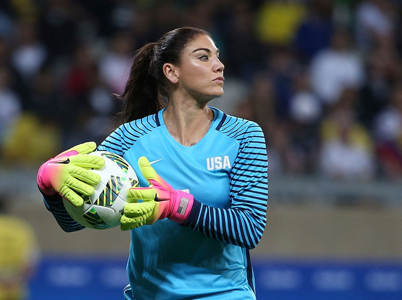 Hope Solo - EUGENIO SAVIO/AP