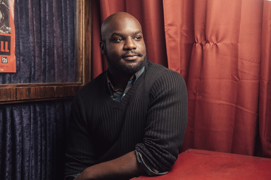Ike Holter is one of six playwrights presenting new ten-minute works at the Living Newspaper Festival. - JEFFREY MARINI
