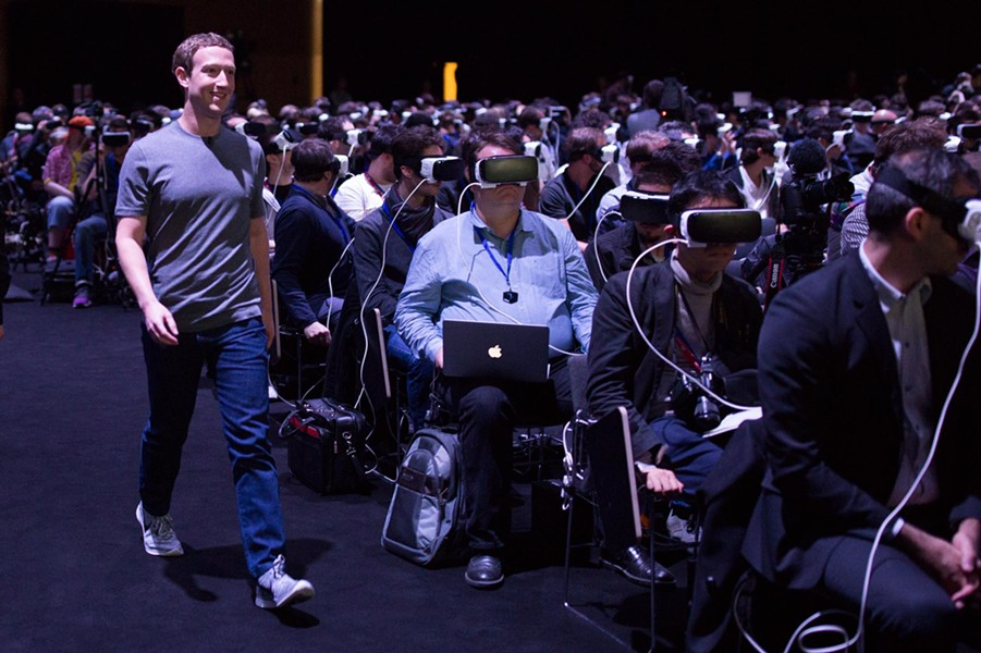 Will Mark Zuckerberg enslave us all in virtual reality? - AP
