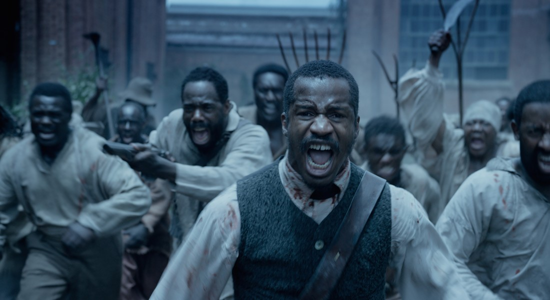 Nate Parker plays Nat Turner in his new film, The Birth of a Nation, about an 1831 slave revolt in Virginia.