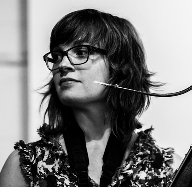 Bassoonist and composer Katherine Young - PETER GANNUSHKIN
