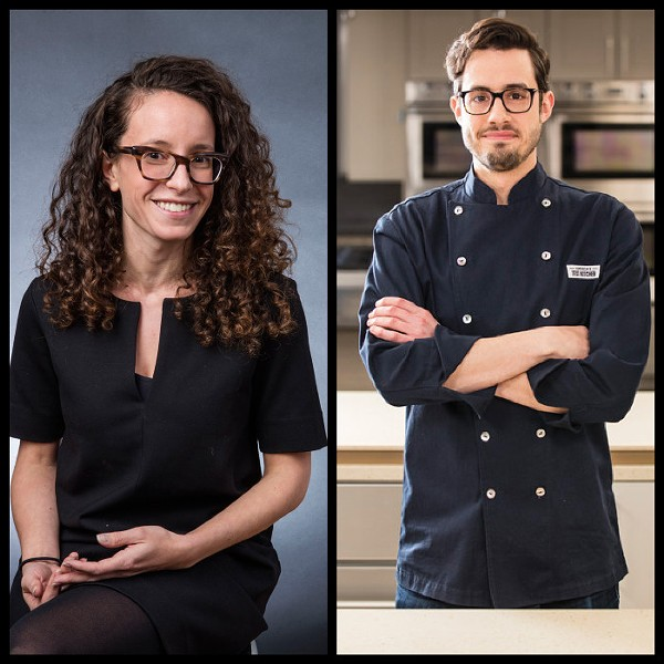 Molly Birnbaum and Dan Souza, the people behind Cook's Science - STEVE KLISE/COURTESY COOKS ILLUSTRATED