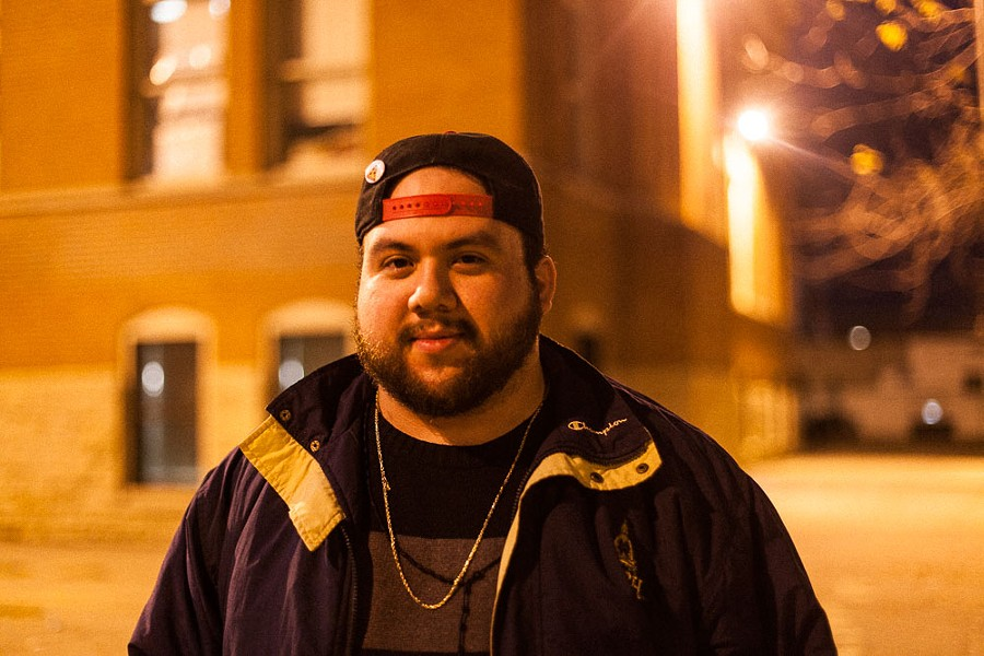 """Gilberto Sandoval in Pilsen was less than enthused. """"I voted for the candidate that was the least shitty. I don't support any of the candidates, I just hate some of them less."""" - DANIELLE A. SCRUGGS"""