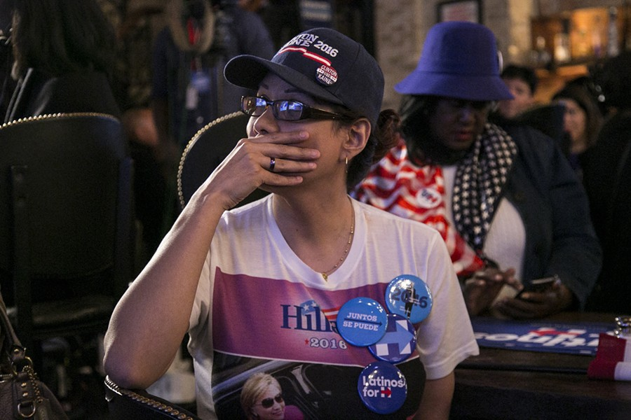 That sinking feeling election night - ASHLEE REZIN/SUN-TIMES