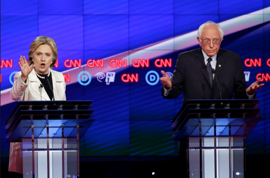 The Democratic primary revealed a philosophic split on the left as Sanders focused on inequality while Clinton downplayed economics—a dichotomy highlighted in  The Trouble With Diversity . - SUN-TIMES