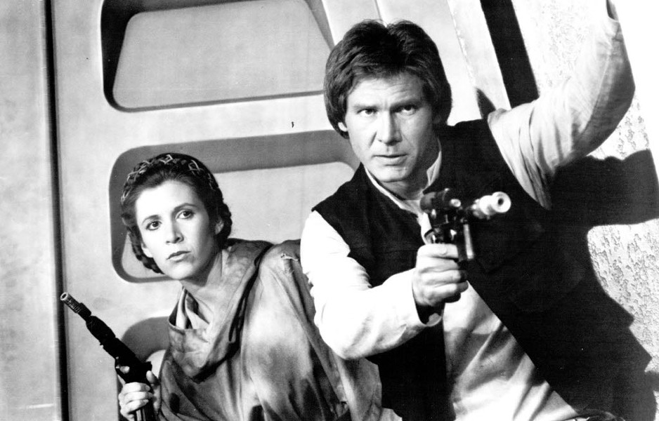 Carrie Fisher and Harrison Ford - RALPH NELSON, JR.